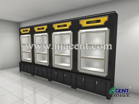 木制展柜,其它产品展示柜-南京艾森特货架展柜制造