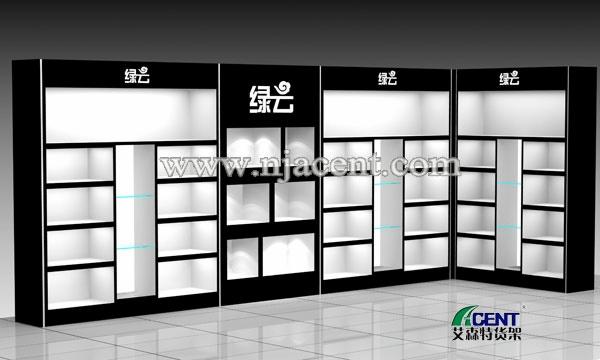 皮具展柜,-南京艾森特货架展柜制造厂家