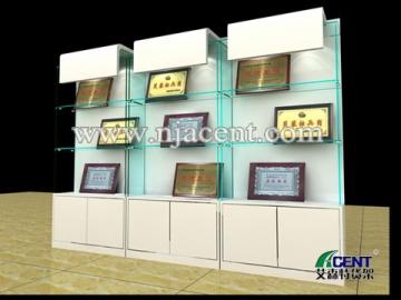 奖牌展示柜,工艺礼品展柜-南京艾森特货架展柜制造厂家