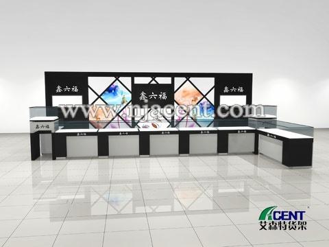 饰品展柜02,饰品展示柜-南京艾森特货架展柜制造厂家
